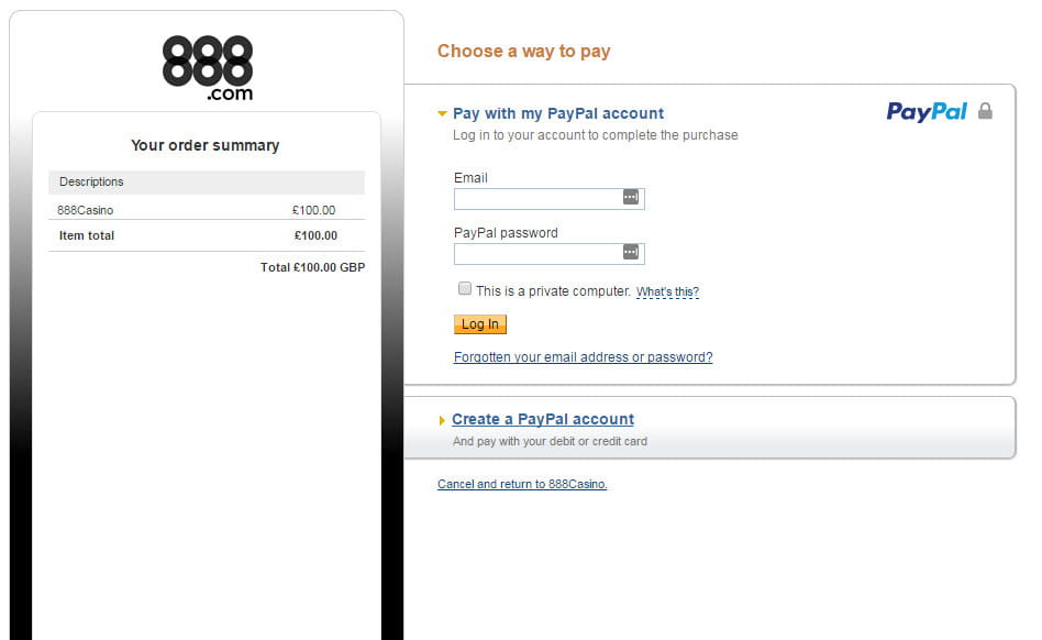 Paypal bingo slots